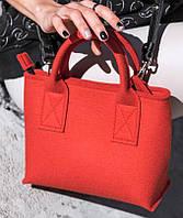 """Жіноча сумка з фетру """"Lady4"""" сумка ручної роботи від української майстерні PalMar, сумка с войлока"""