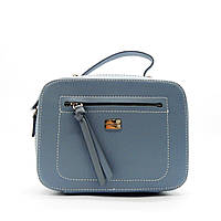 Женская сумочка DAVID DJONES голубого цвета LLP-100011 (реплика), фото 1