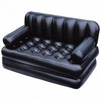 Надувной диван с насосом 188х152х64 см
