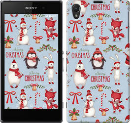"""Чехол на Sony Xperia Z1 C6902 Рождественский """"3863c-38-328"""""""