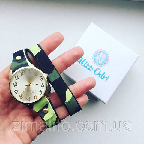 Часы Миллитари зеленый