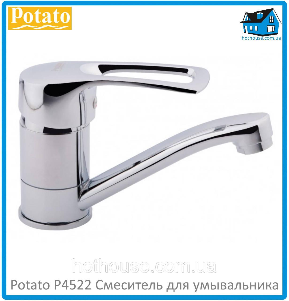 Смеситель для умывальника Potato P4522