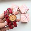 Часы Питон красные