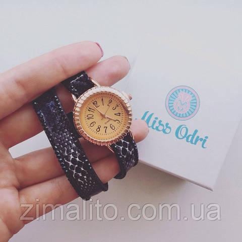 Часы Питон черные