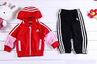 """Детский спортивный костюм """"Adidas"""", красный"""