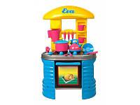 Стол-кухня Ева (кастрюля+чайник+...) в коробке /2/(04-404)