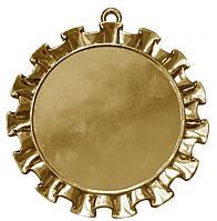 Медаль наградная золото 70 мм