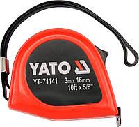Рулетка L-10м., W-25мм.,  YATO  YT-71146