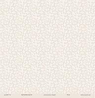 """Дизайнерская бумагас листвой, размер 30х30 см """"Мереживо весни"""" ЕК"""