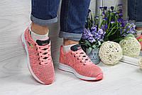 Adidas Neo розовые кроссовки (Реплика ААА+), фото 1