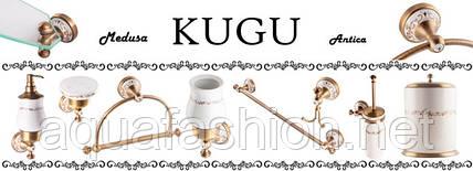 Бронзовые аксессуары для ванной Kugu Medusa: нотка прованса в дизайне
