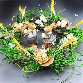 Декоративные пасхальные венки (веночки)
