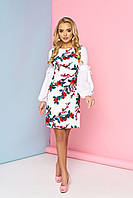 Оригинальное цветочное платье, фото 1