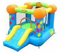 Детский надувной батут Веселый праздник игровой центр с горкой HAPPY-HOP 9070, фото 1
