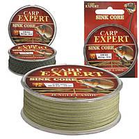 Лидкор EnergoFish Carp Expert Sink Core Joungle Camou 10м 0.9 мм 45 lbs 20.5кг + игла (31506009)