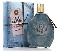 (ОАЭ) Diesel  / Дизель - fuel for life blue Мужские