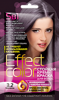 Cтойкая крем-краска для волос «Effect Сolor», цвет баклажан