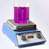 Магнітна мішалка з нагрівом РІВА-3, магнитная мешалка с нагревом РИВА-3