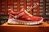 Кроссовки Nike Free Run 2.0 Orange Оранжевые женские, фото 3