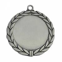 Медаль наградная серебро 70 мм