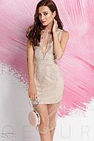 Изящное платье-сетка Gepur 25772