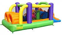 Детский надувной батут Happy Hop полоса препятствий