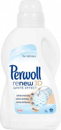 Жидкое средство для деликатной стирки Perwoll Восстановление + белый 2 л, фото 2