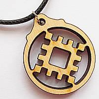 """Славянский оберег """"Репейник удачи"""" символ притягивающий счастье  и благополучие."""