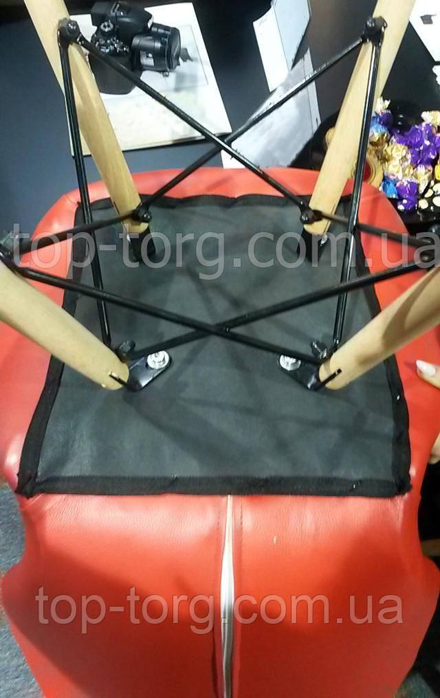 Основание стула - Паук, деревянные ножки на металлических спицах