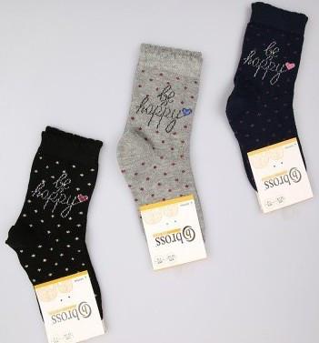 Р. 34-36 ( 9-11 лет )   носочки детские Bross демисезонные