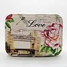 Женская косметичка Роза белого цвета LQQ-720061 большая