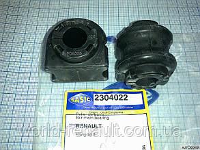 Втулки переднего стабилизатора на Рено Кангу 2 K9K 1.5dci, 1.6i 8V / SASIC 2304022
