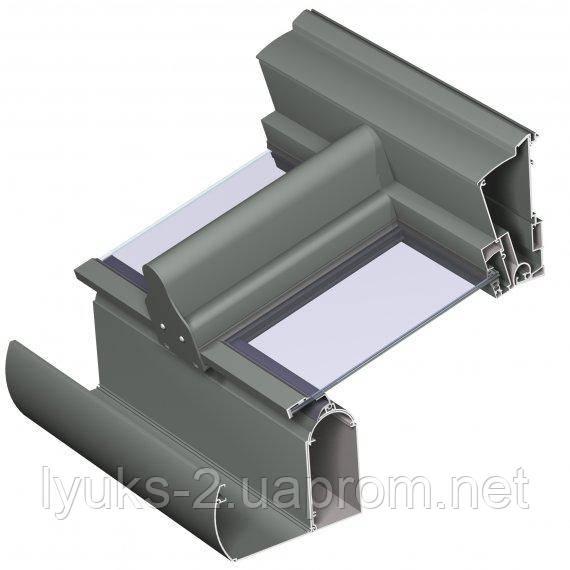 Алюминиевая система для зимних садов PR 100