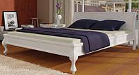 Кровать деревянная Палермо 140х200 Mebigrand сосна белая, фото 1