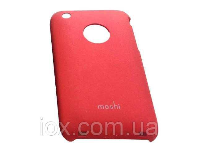"""Чехол """"Moshi"""" красный для Iphone 3"""