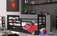 👪Деревянная кровать Ронни 80х190 см. Mr.Mebl