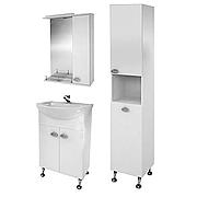 Комплект мебели для ванной комнаты Жемчуг 1-60-1-60 ВанЛанд