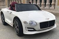 Детский электромобиль КХ855 Bentley Luxury, EVA колёса, белый, дитячий електромобіль
