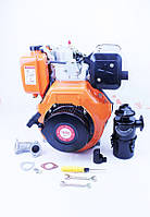 Двигатель мотоблочный в сборе под шлиц Ø25мм 9 л.с. 186F (HT-135)