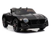 Детский электромобиль КХ855 Bentley Luxury, EVA колёса, чёрный, дитячий електромобіль