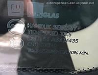 Откидное стекло заднего правого крыла ЗАЗ Вида хетч. Стекло 96404374 правое глухое Авео хетчбек Hanglas Корея
