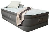 Велюр кровать со встроенным электронасосом