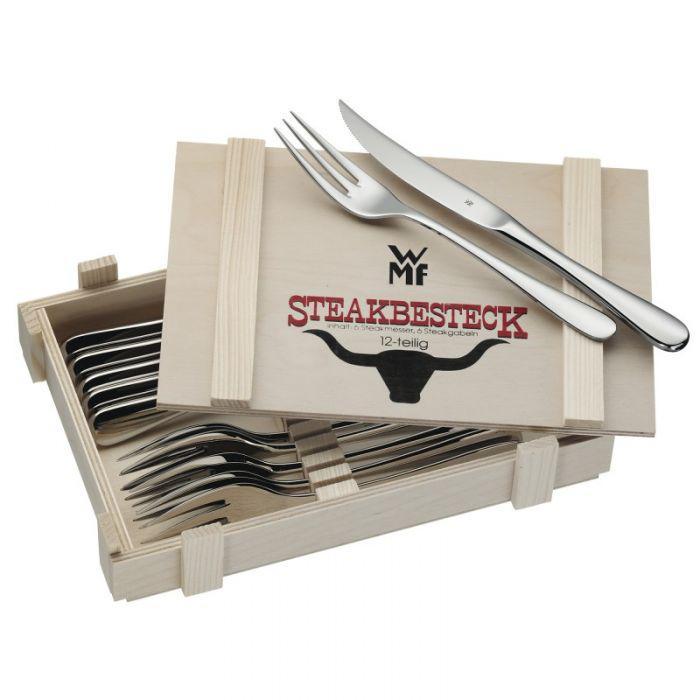 Набор столовых приборов для стейка WMF Geschenkidee 12 предметов (12 8023 9990 PROMO), фото 1