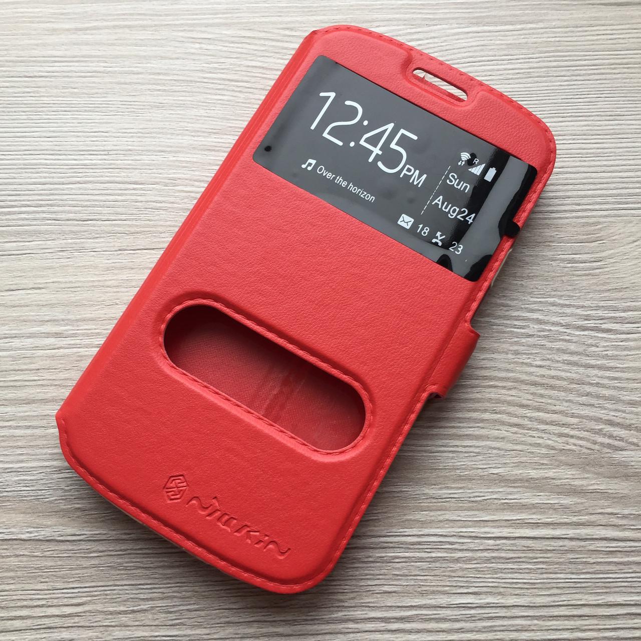 Фирменный Красный чехол к Samsung Galaxy S3 i9300, S3 Duos