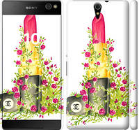 "Чехол на Sony Xperia C5 Ultra Dual E5533 Помада Шанель ""4066c-506-328"""