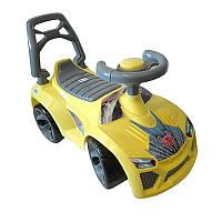 Машинка для катания ЛАМБО лимон ОРИОН 021 (700x280x450 мм)