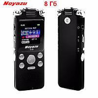 Профессиональный цифровой диктофон Noyazu V59, 3 микрофона, 8 Гб.