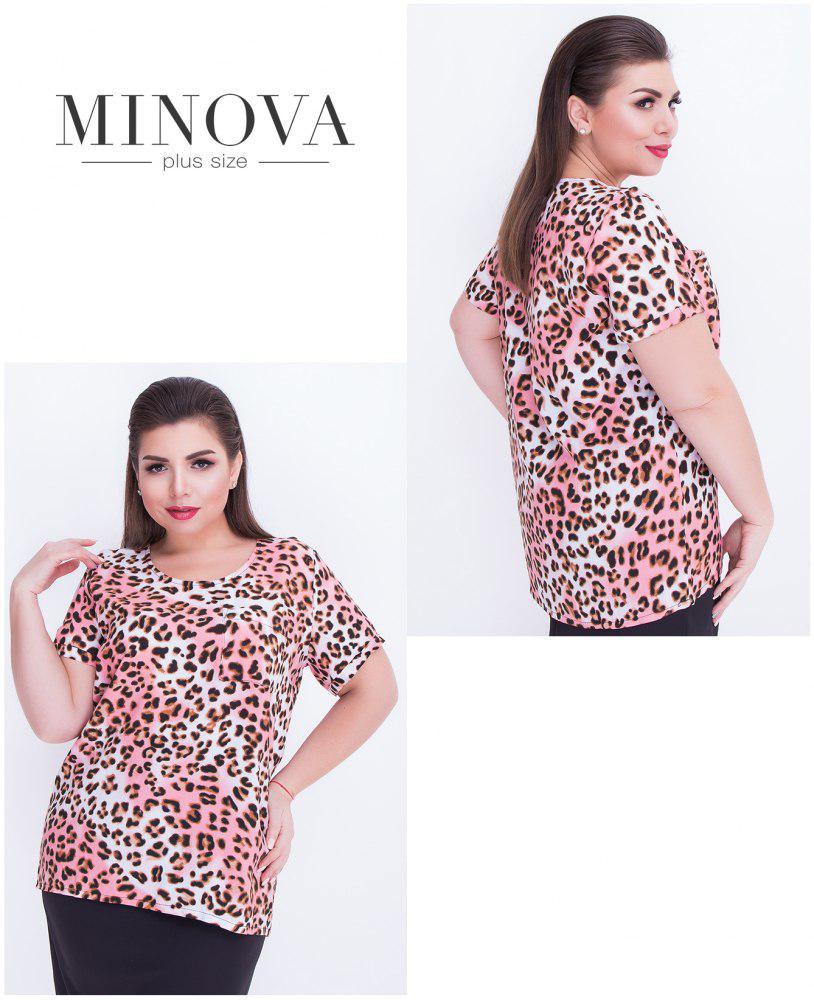 Блуза женская большого размера  р. 52-56