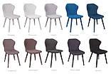 Обеденный стул VALENCIA (Валенсия) серый Nicolas (бесплатная доставка), фото 3