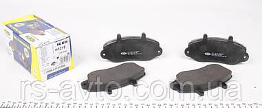 Колодки тормозные (передние) Renault Master, Рено Мастер II 98- R15 (Bendix) 141219